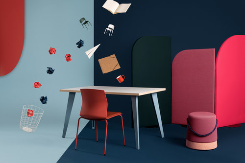 A production to promote the young brand of French furniture