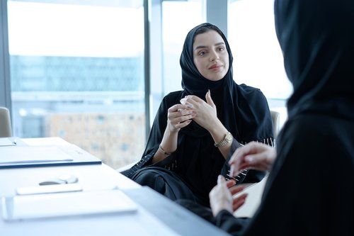 Working portraits production for Mubadala's employer brand