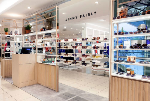 Retail photography for Jimmy Fairly produced by local photographers.
