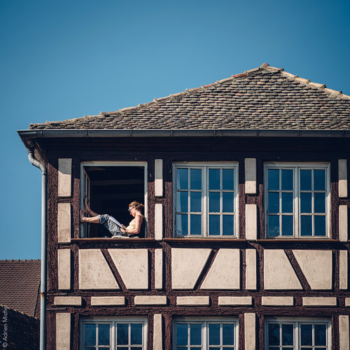 Street photography for Seloger in Strasbourg, France